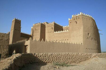ibn: Saad ibn Saud Palace in Diriyah Stock Photo