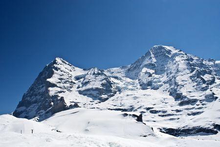 eiger: Eiger and Moench(Monk) - 2 peak