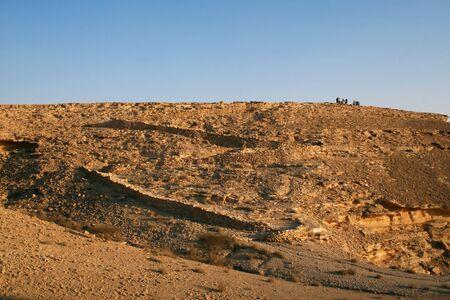 Old camel trail near Riyadh (Saudi Arabia) photo