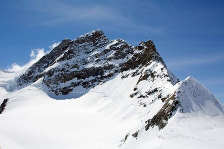 Top of Jungfrau (Bernesse alps, Switzerland) Stock Photo - 5154422
