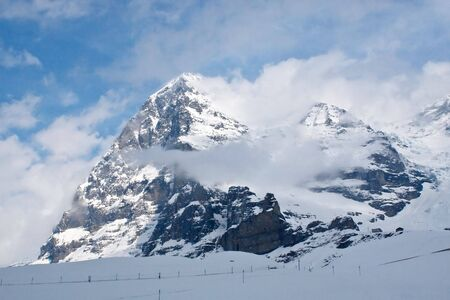Eiger North Face (Jungfrau region, Switzerland) Stock Photo - 5380131