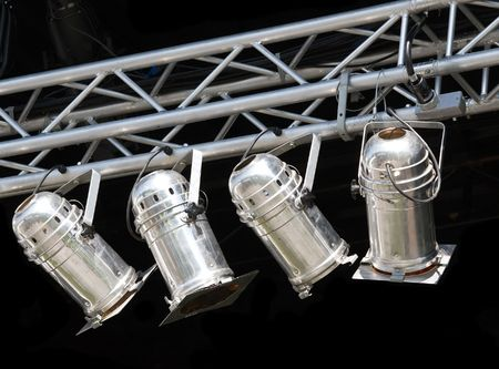 theatrical: Fragments of stage illumination (Zurich Open Air 2008)