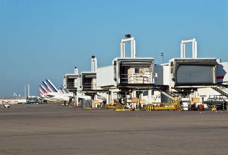 charles de gaulle: Charles de Gaulle international airport, Paris, France