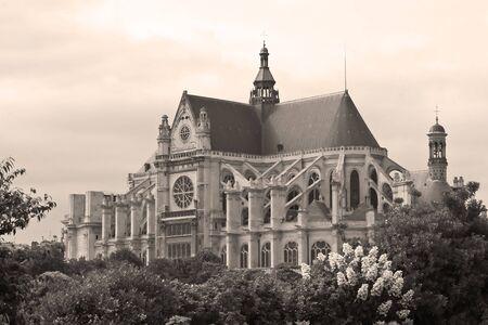 Eglise Saint-Eustache, Paris, France photo