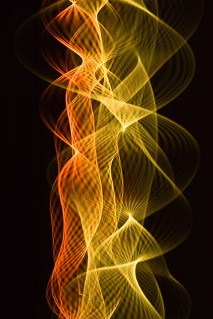 nebulosity: Abstract spiral background on the black background Stock Photo