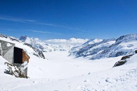 Winter landscape in the Jungfrau region Stock Photo - 5680713