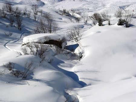 glarus: Winter in the swiss alps (Elm, Glarus, Switzerland)