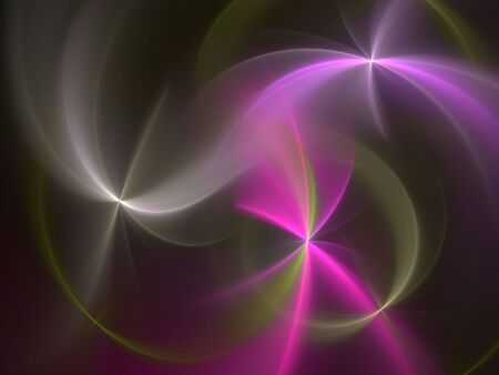 Abstract background made of circles and lines photo
