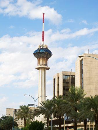 KSA: TV tower in Riyadh, Saudi Arabia