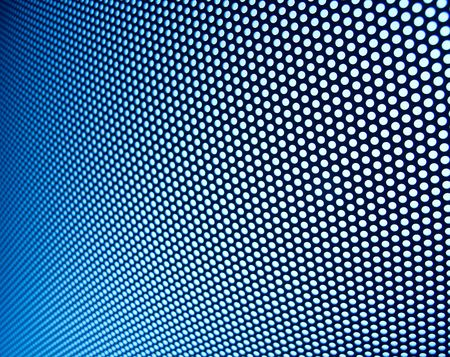 Bright blue metal meshy structure Stock Photo - 6654436