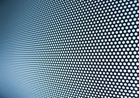 Blue steel meshy metal background