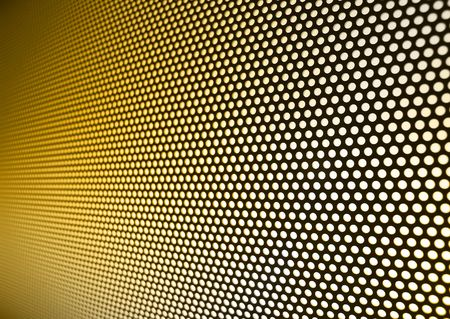 netlike: Yellow gold meshy metal background