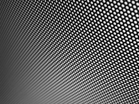 Metal mesh texture (black and white) Stock Photo