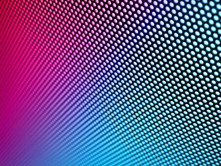 cribriform: Metal mesh texture pink-blue