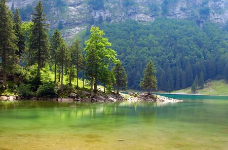 Lake Seealpsee (St.Gallen, Switzerland) photo