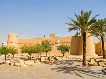 ksa: Al Masmak fort in the Riyadh city, Saudi Arabia