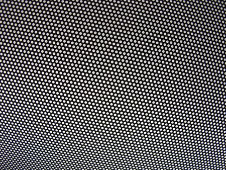 reticular: metal grid
