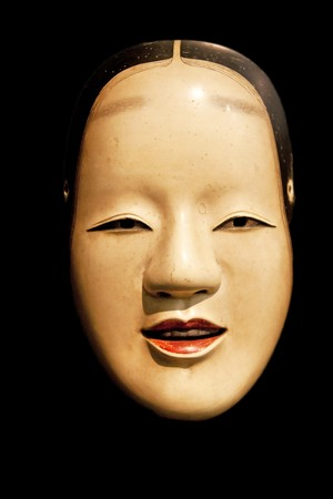 Zo-Onna (beauiful woman) mask from japanese Noh theatre Stock Photo - 7016719