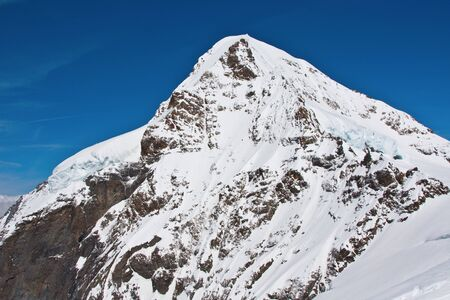 eiger: Eiger North face in the Jungfrau region Stock Photo