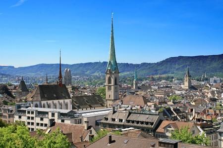 View of the Zurich donwtown (Switzerland, 2009) photo