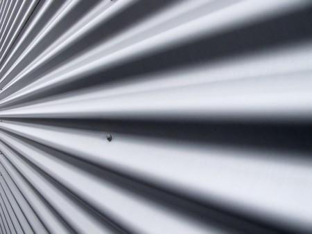 Aluminium metal profile of the wall photo