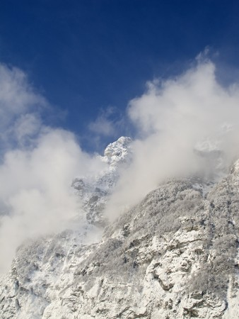 glarus: Winter in the swiss alps (Glarus, Switzerland)