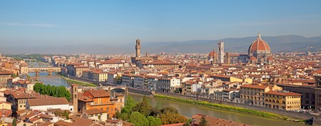 Panoramic view of Florence, Tuscany, Italy Stock Photo - 7587409