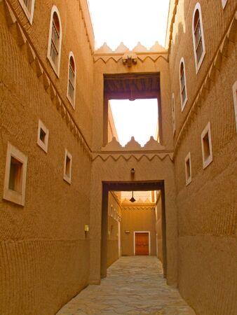 Narrow street of the old Riyadh photo