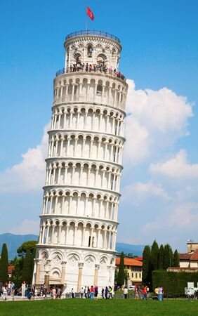 Leaning tower of Pisa, Tuscany, Italy Stock Photo - 7776065