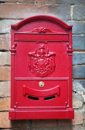 beautiful vintage letter-box, Siena, Italy Stock Photo - 7877137