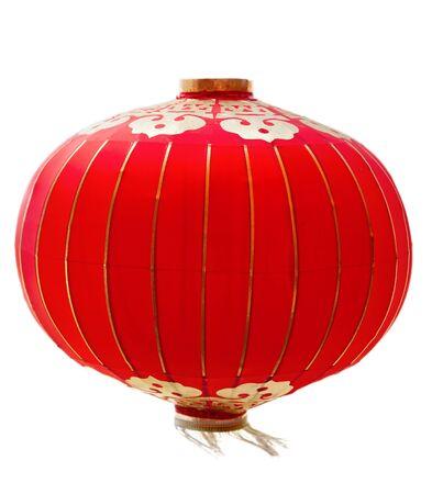 chinese lantern: lanterns on white isolated background Stock Photo