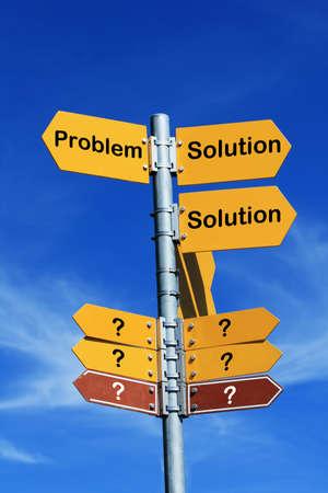 Problem - Solution photo