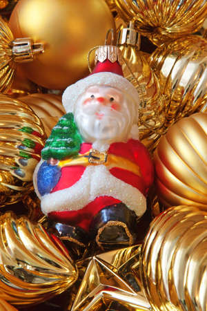 Fragment of the Christmas tree decoration Stock Photo - 8254309