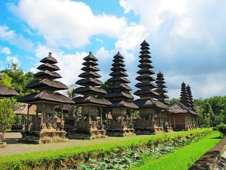 balinese: Pura Taman Ayun near Mengwi, Bali, Indonesia.