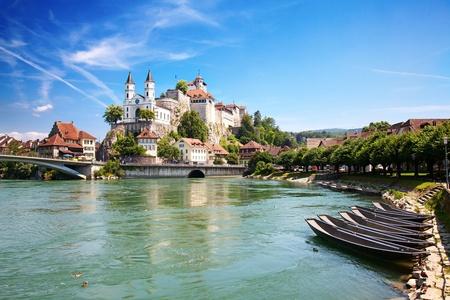 Château de Aarburg près de Zurich, Suisse.