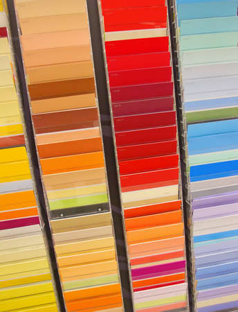 Paint samples in the shop Stock Photo - 9035871