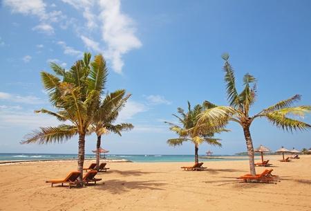 nusa:  beautiful balinese Nusa Dua beach