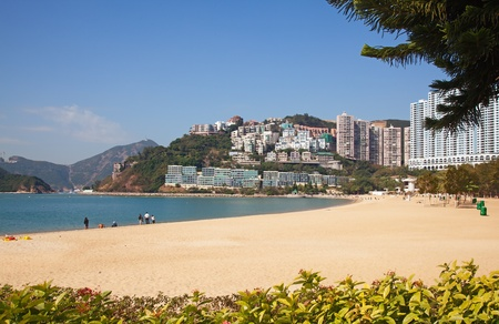repulse: Repulse Bay beach in Hong Kong, China