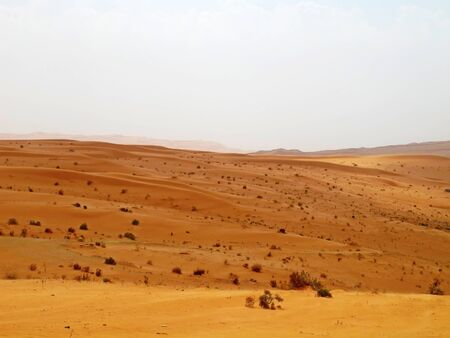Red sand & Arabian desert near Riyadh, Saudi Arabia photo