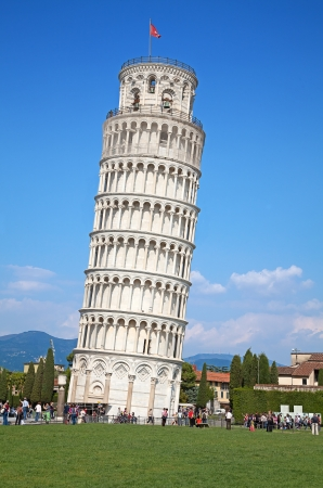 pisa: Scheve toren van Pisa, Italië