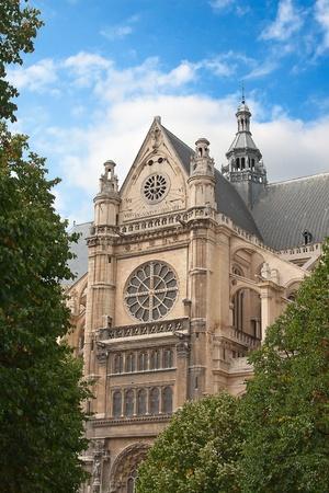 Eglise Saint-Eustache church, Paris, France photo