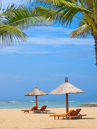 beautiful balinese Nusa Dua beach photo