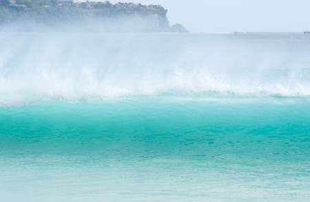 Dreamland beach, Bali, Indonesia. The Dreamland is one of the most popular surfing areas of Bali. photo