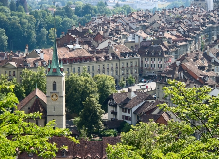 Bern. Charming capital city of Switzerland Stock Photo