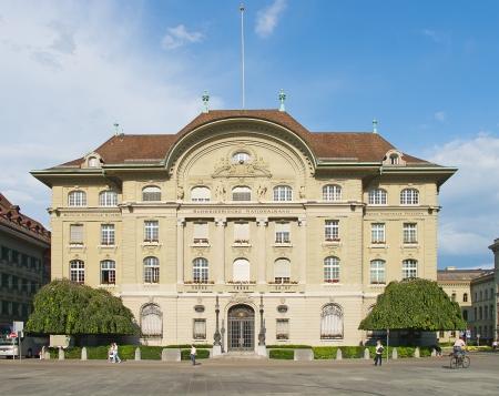 National Bank of Switzerland building in Bern