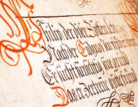 castello medievale: Scritta sul muro del castello medievale