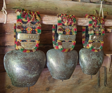 Collection of the cow bells