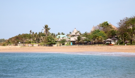 beautiful balinese Nusa Dua beach Stock Photo - 16652699