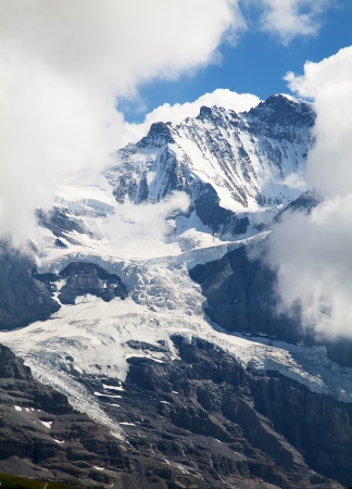 Eiger mountain in the Jungfrau region photo