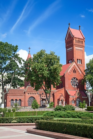 Catholic chapel St Simon and St Elena. Minsk. Belarus. photo